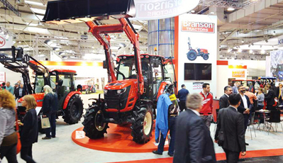 Branson Tractors participated in AGRITECHNICA Germany