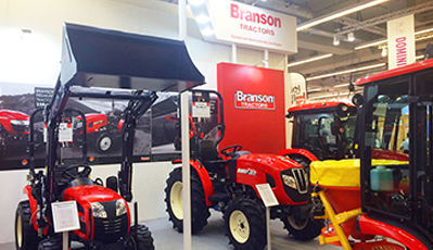 BRANSON, VISITING GALABAU 2016 EXHIBITION IN GERMANY